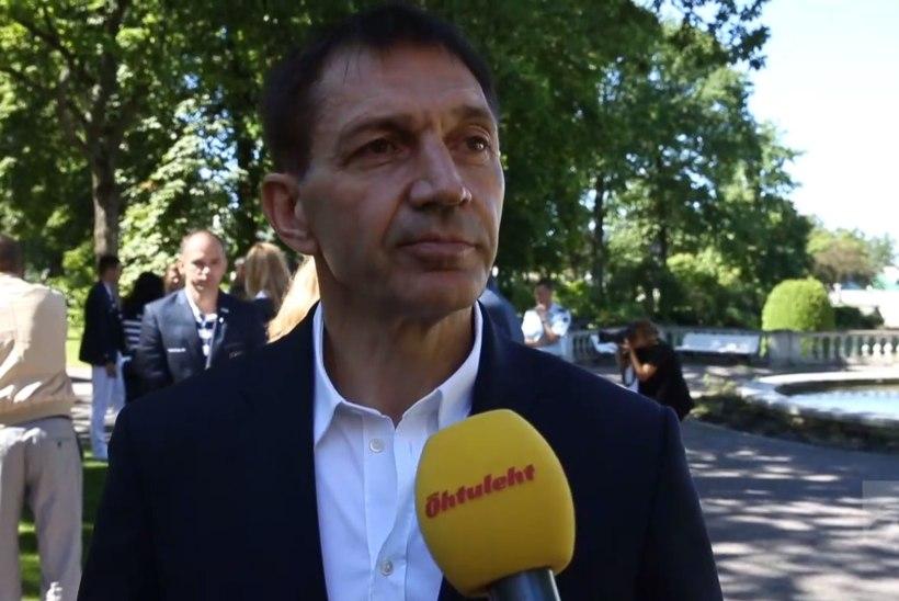 ÕHTULEHE VIDEO   EOK president Urmas Sõõrumaa: heade medalitega tulevad head peod