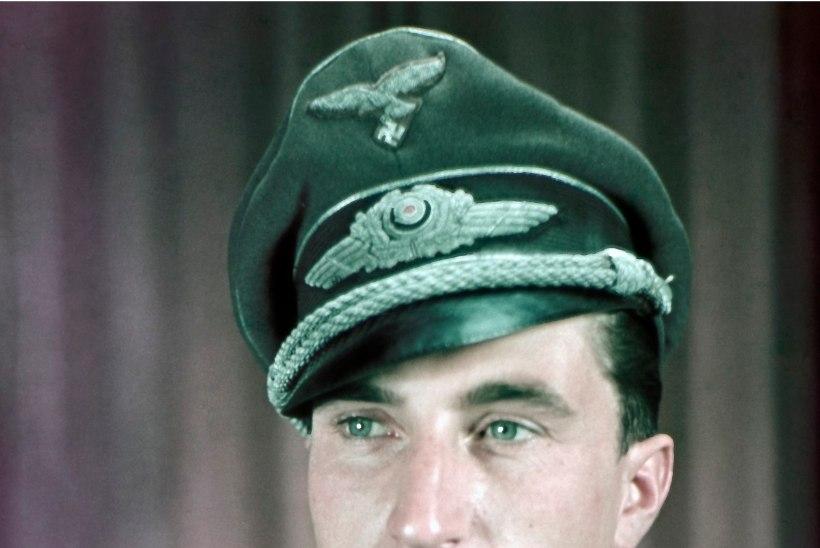Saksa õhuässa lennuki ülestõstmisplaan seisab