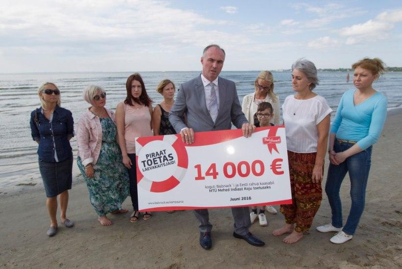 Laevakaitsjate lähedastele anti meeste toetuseks 14000 eurot