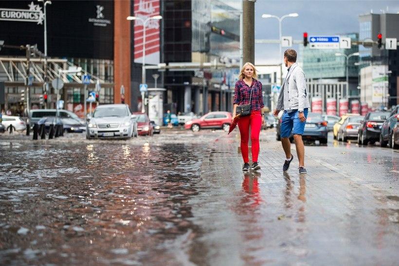 ÄIKE JA PÄIKE: soe ilm tuleb koos äikese ja hoovihmaga