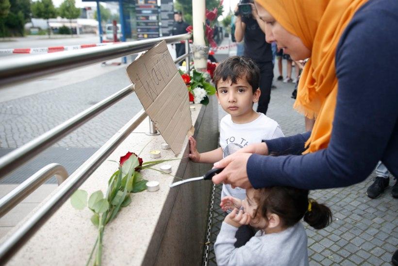 FOTOD | Münchenis mälestatakse eilse veresauna ohvreid