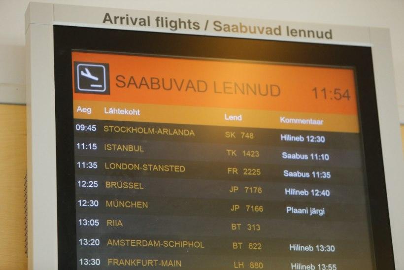 Reisija pommiähvarduse saanud Tallinna lennujaamas: politseinikud on hambuni relvastatud