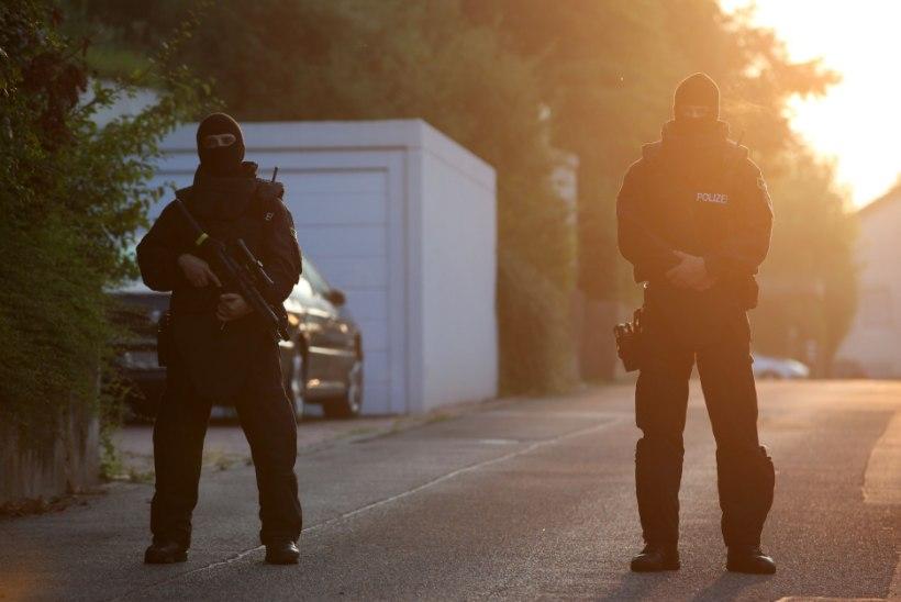 Saksa kriminaalpolitsei tuvastas 410 võimalikku terroristi põgenike seas