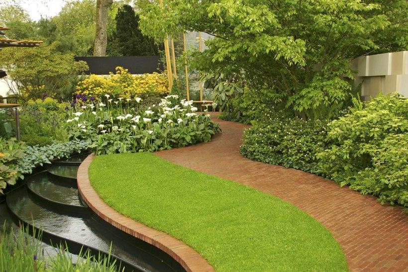 INSPIRATSIOONIKS: trepid ja astmed aias loovad vaheldusrikkust