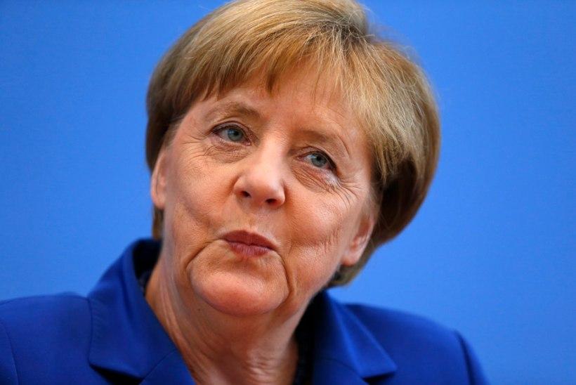 Terroristid rikkusid Merkeli suvepuhkuse