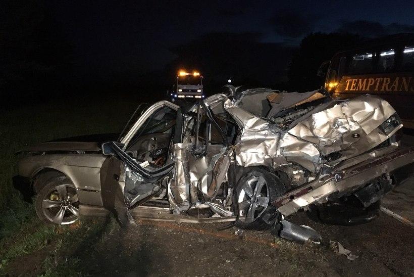 Märg tee, bemm ja uljaspea roolis – kolm noort hukkunut