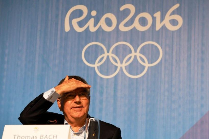 Bach kaitses vankumatult Venemaa osalemist Rio olümpial