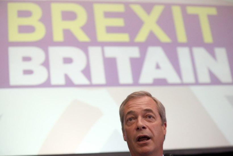 Farage lahkub Briti iseseisvuspartei juhi kohalt