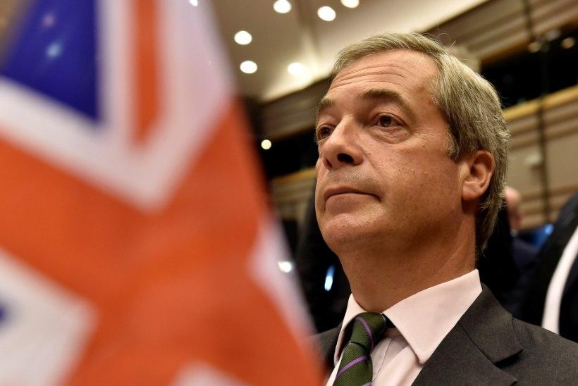 Nigel Farage: minu töö on tehtud