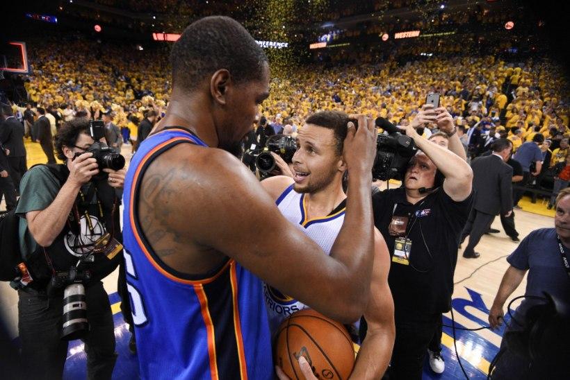 VIIES VEERANDAEG | Kas Kevin Durant on memmekas või alfa-isane ning kes keerab Warriorsil saba sõlme?