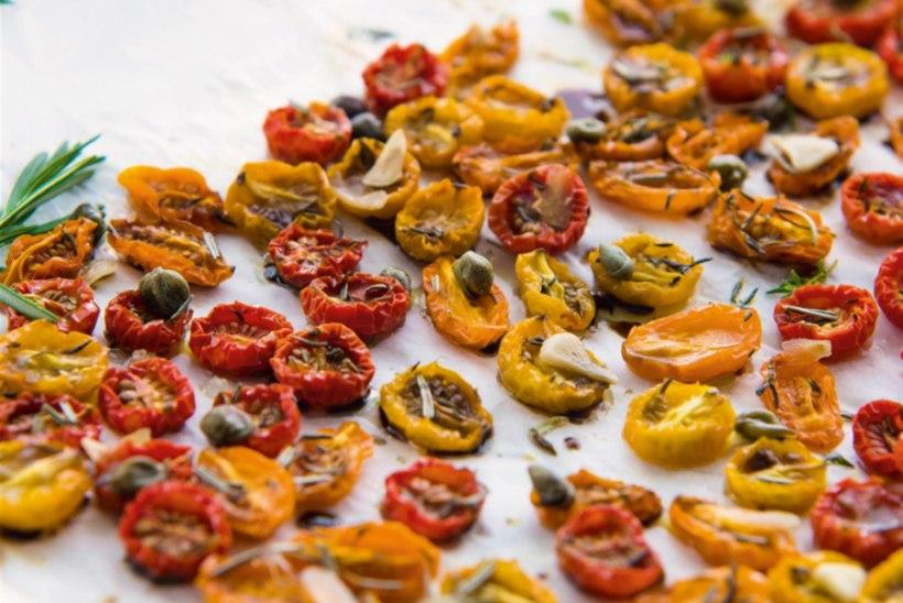 Ahjukuivatatud tomatid