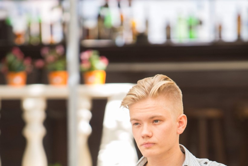 Karl Madise poeg Carl töötab helitehnikuna