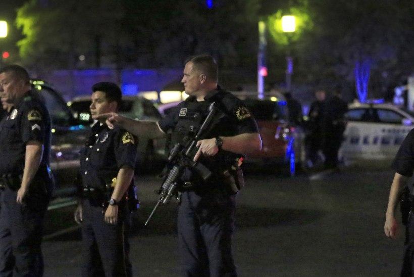 USA meeleavaldusel tulistati viis politseinikku surnuks