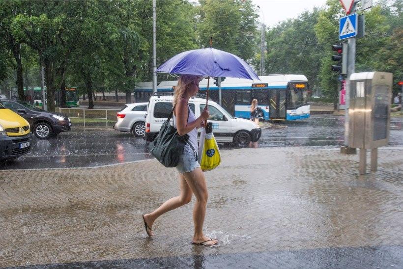 Lähipäevil ootab meid päike, äike, tuul ja vihm