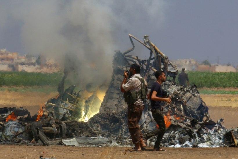 Süürias tulistati alla Vene sõjaväekopter