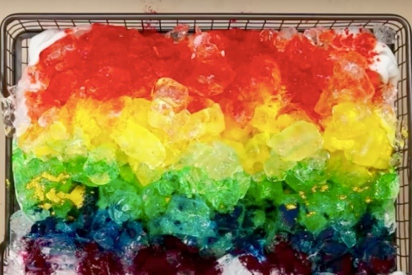 VIDEOÕPETUS! Värvi padjapüürid jääkuubikutega erksaks!