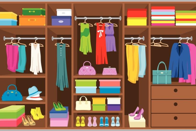 5 nippi, et riidekapis valitseks kord