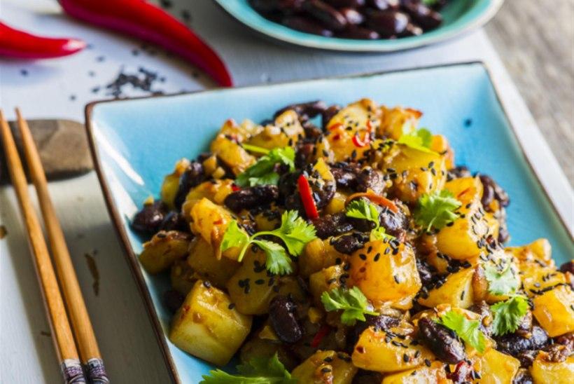 Hiina kartuli ja punase oa vokiroog