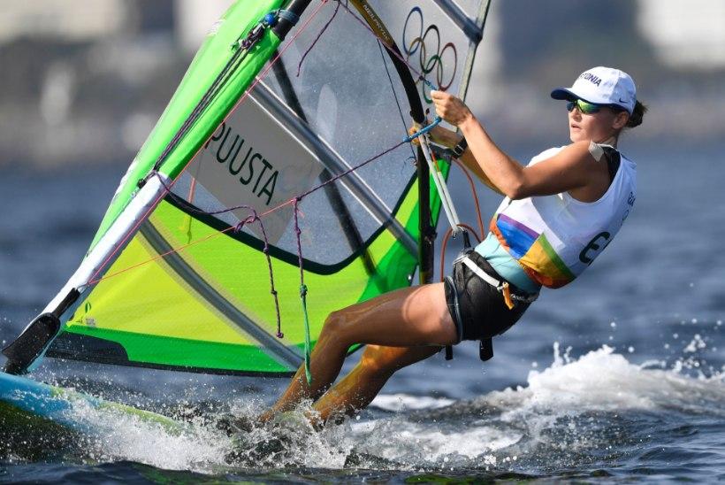 Ingrid Puusta jäi esimesena medalisõitudelt välja