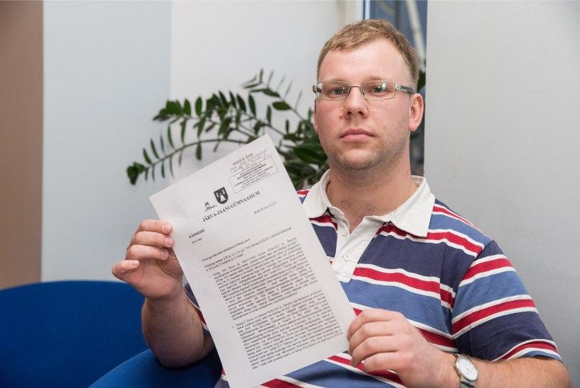 Töövaidluskomisjon kiitis noore meesõpetaja vallandamise heaks