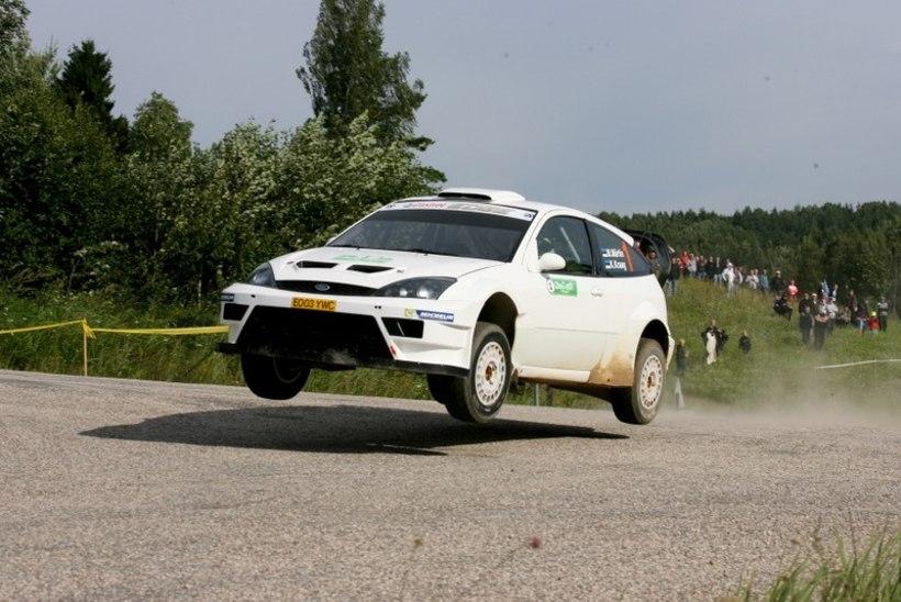 Lõuna-Eesti ralli võitis WRC masinaga sõitnud Markko Märtin