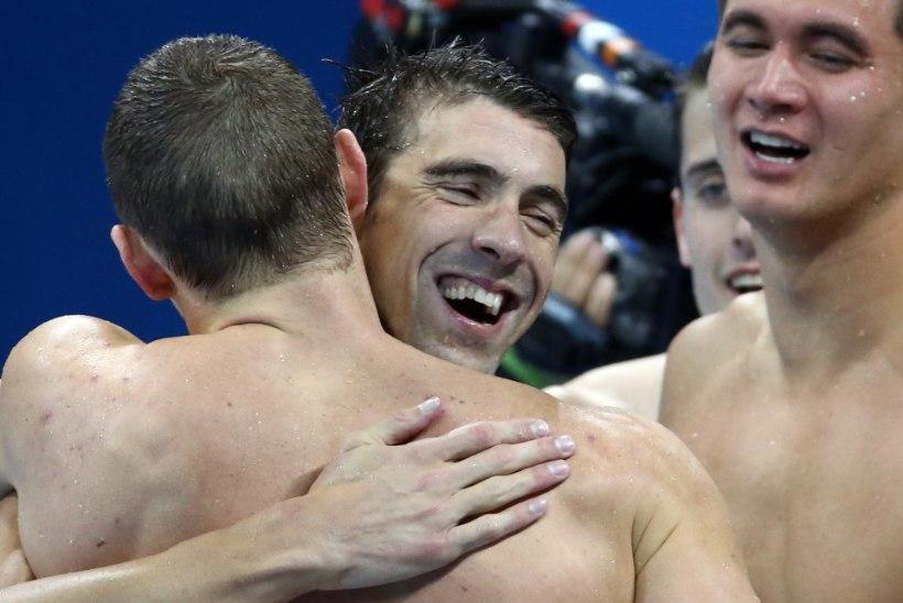 Phelps võitis Rios viienda kulla ja nüüd on tal 23 olümpiakulda