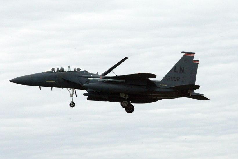 USA sõjalennukid osalevad õppustel Soome õhuruumis, lennukid stardivad Ämarist