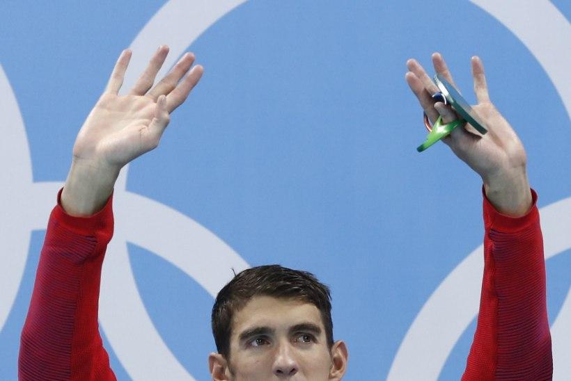 STATISTIKAPOMM | OM-i 8. võistluspäev: Phelpsile järjekordne kuldmedal