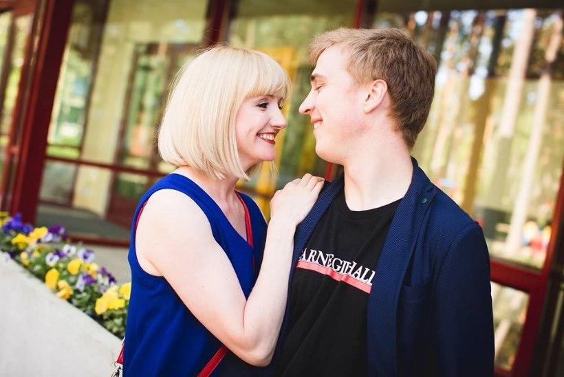 Evelin Samuel abiellus 14 aastat noorema pianistiga