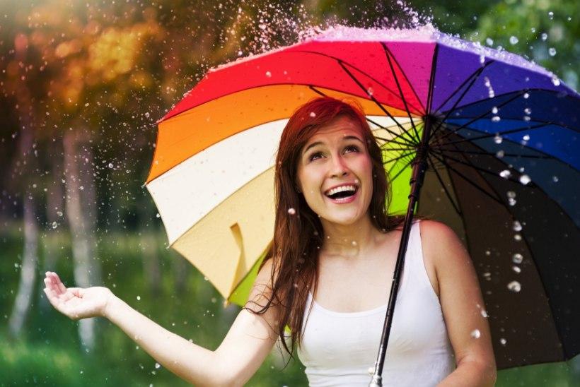 Kümme võimalust vihmasel päeval nulli kippuvat tuju turgutada