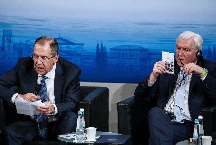 Lavrov ja Steinmeier: suhted on kehvad