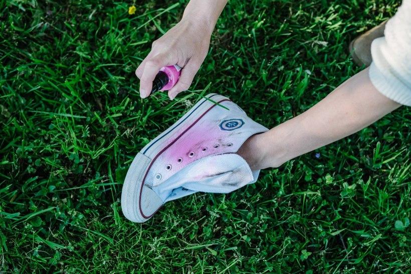 Vanast uus! Värvi määrdunud tennised sügiseks säravaks!
