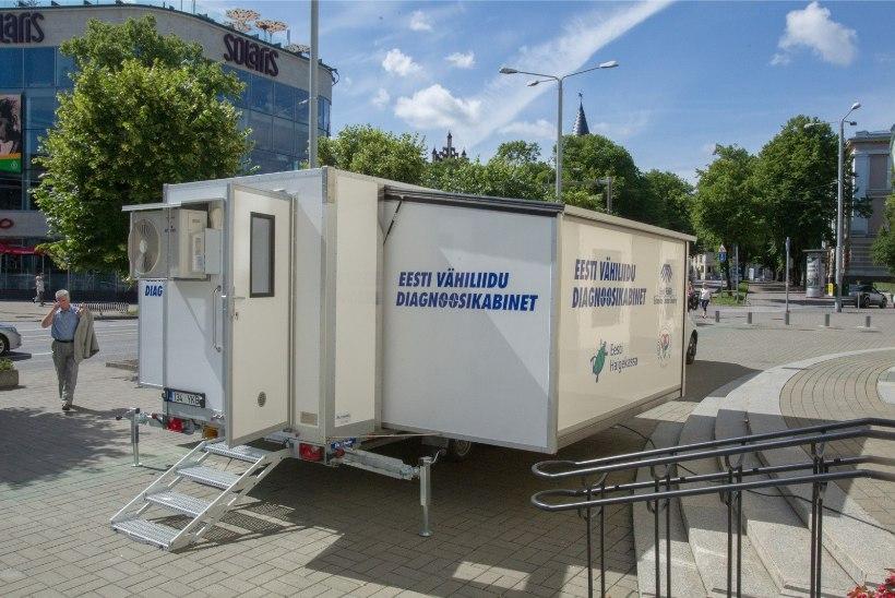 Mobiilne nahavähi diagnoosimise kabinet alustab vastuvõtte Jõgevalt