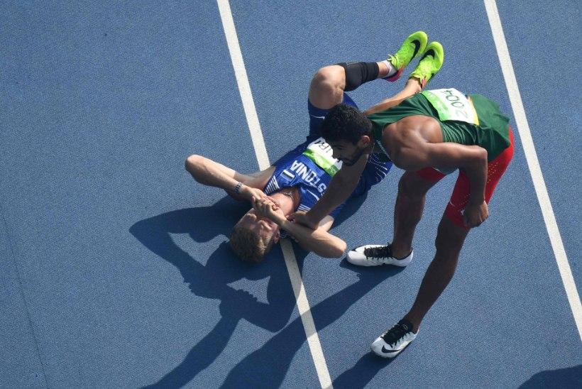 ÕL RIOS | Vigastusest hoolimata debüütolümpia lõpetanud Saluri sai Eatonilt kiita ning tahab anonüümsetel kommenteerijatel suu lukku panna!