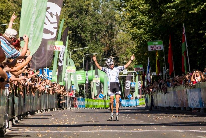 Tartu Rulluisumaratoni kolmekordne võitja Kert Keskpaik alustab Kuubikujahti