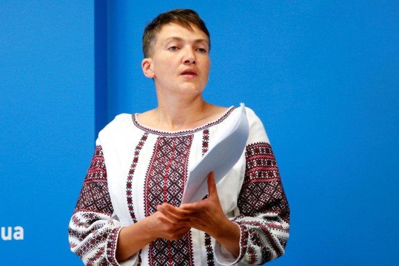 Ukraina lendur Nadija Savtšenko alustas jälle näljastreiki