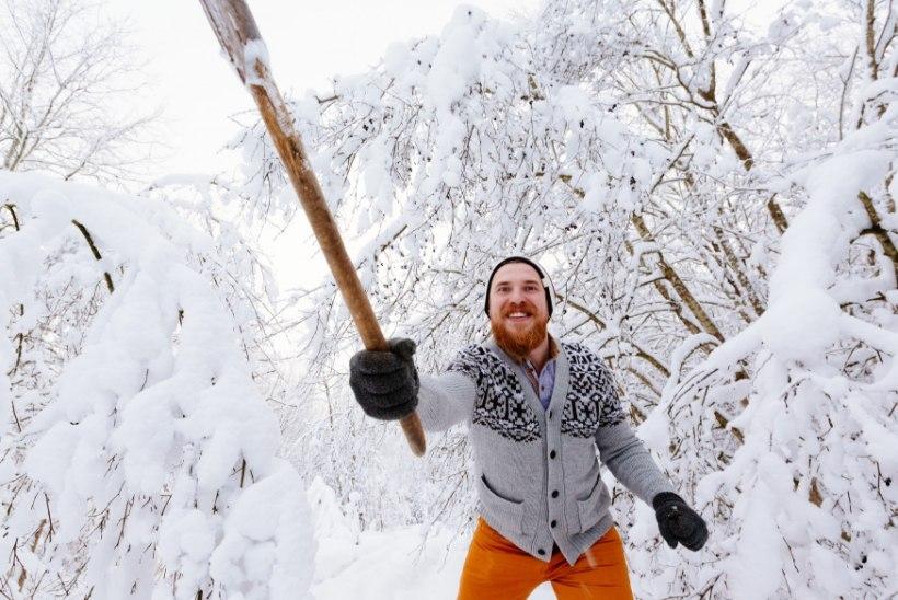 5 põhjust, miks habe on talvel hea