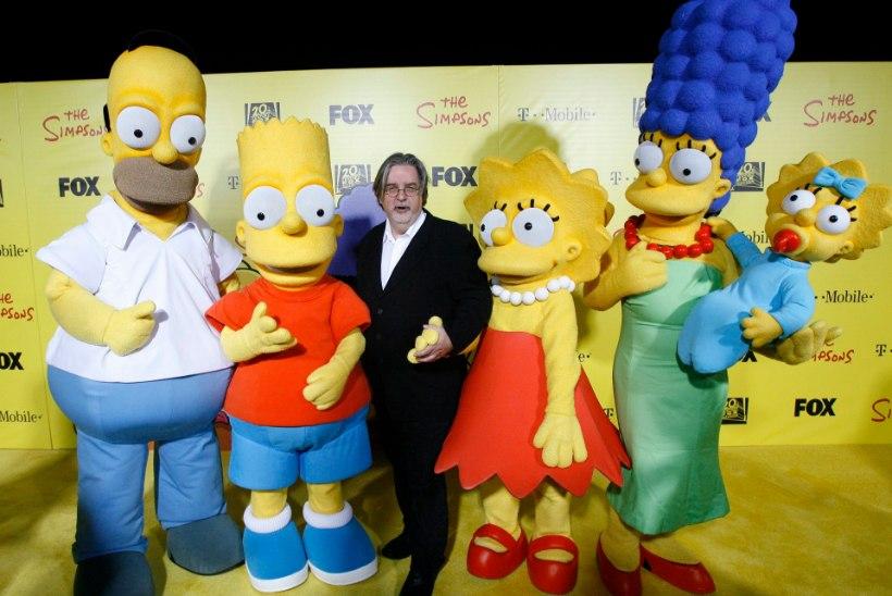 VIDEO | Homer ja Marge Simpson avaldavad toetust Hillary Clintonile