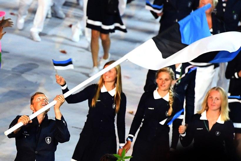 ÕL RIOS | Olümpiamängude nännioksjon: eestlased saavad soetada Rammo võimsalt lehvitatud lipu, hitiks olümpiatõrvikud