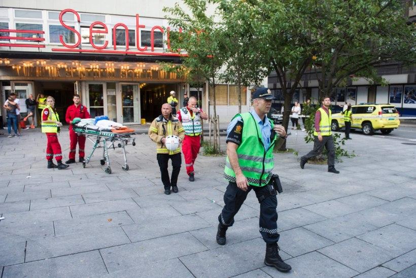 Oslos varises sisse kontserdisaali lagi, vähemalt 15 inimest sai vigastada