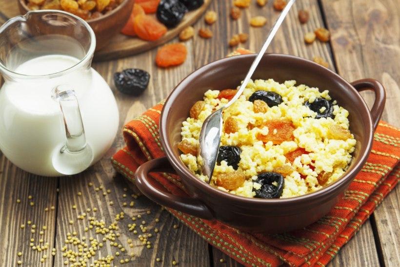 Sportlaste hommikusöök! Valmista magus kinoapuder!