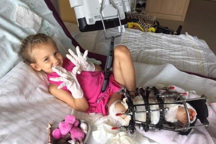 Lastefond toetab haruldase haigusega tüdruku ravireise Saksamaale