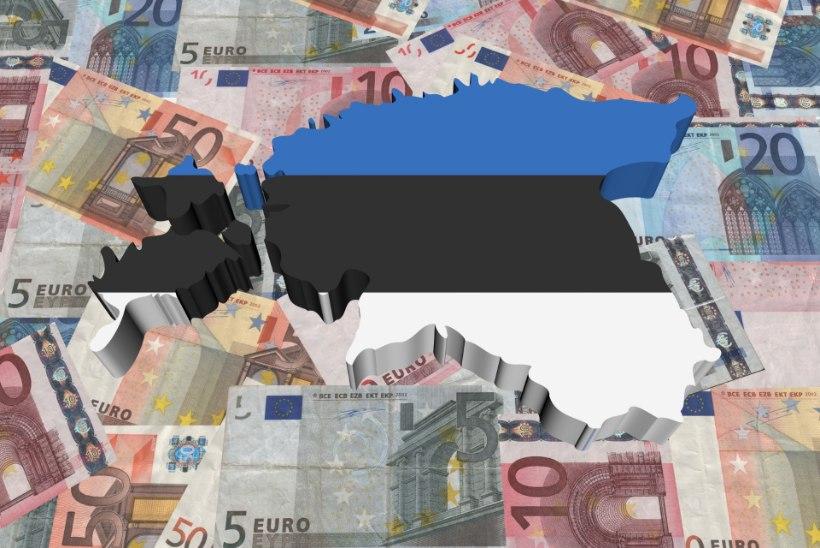 Kas 10 aastat paigal tammunud Eesti majandust ootab lähiajal uus krahh?