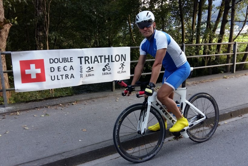 HULL MEES! Eesti mees läbib 10 järjestikusel päeval täispika triatloni!