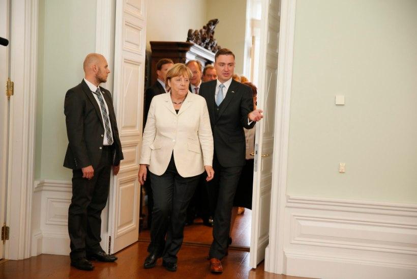 Merkeli visiit – nagu heitlik suveilm