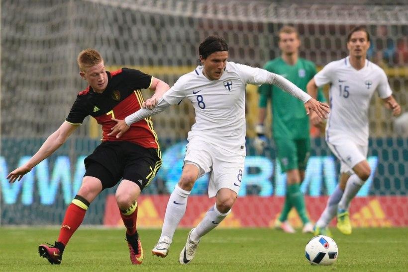 Soome jalgpallur loobus mängust sünnimaa vastu