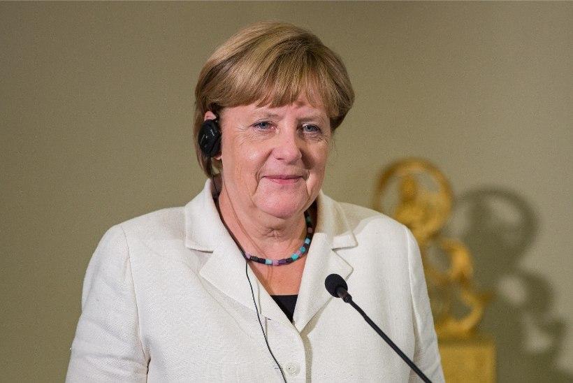 FOTOD | Angela Merkel jõudis Toompeale