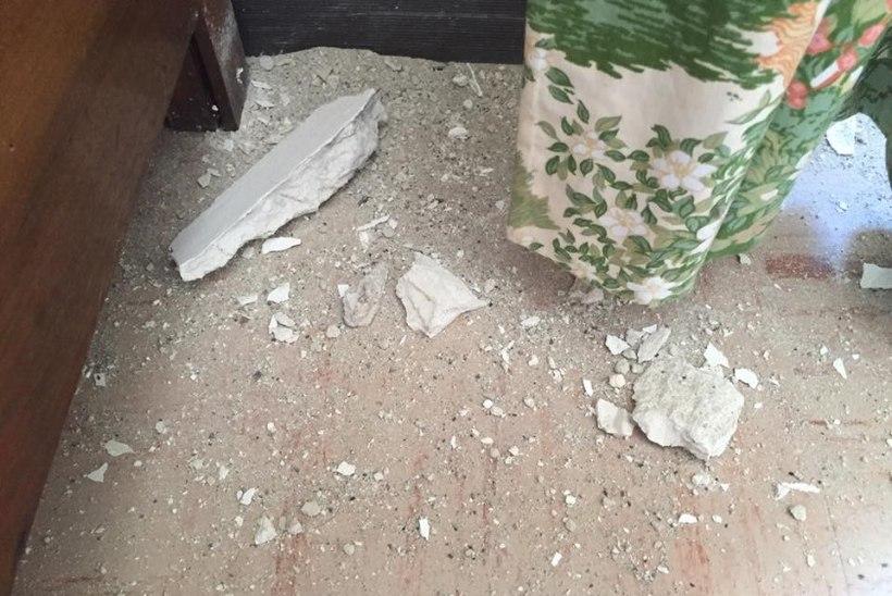 Maavärinapiirkonnas viibiv riigikogulane: meeleolud on murelikud