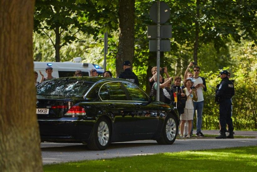 Eesti visiit oli Merkeli jaoks kui ajamasin, meenutades Berliini müüri langemist