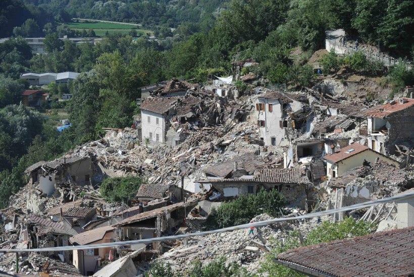 Itaalia maavärina ohvritele korraldatakse riiklikud matused